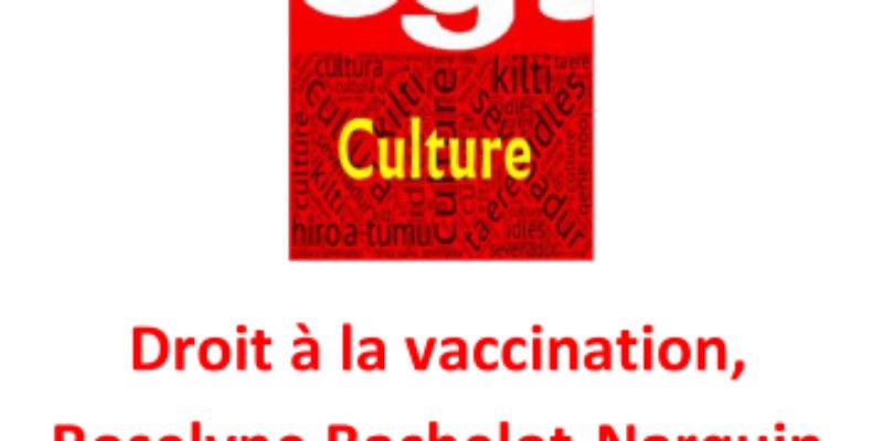 Droit à la vaccination, Roselyne Bachelot-Narquin se contente de peu