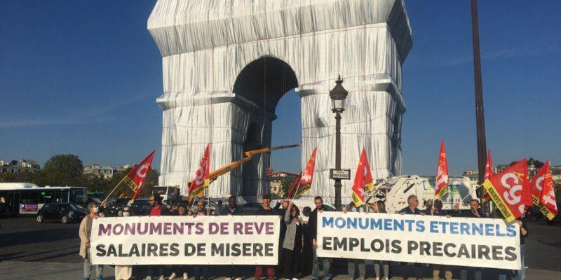 Journées Européennes du Patrimoine 2021 : A quand la revalorisation des salaires ? A quand de vrais emplois pour tous ?