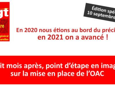 En 2020 nous étions au bord du précipice, en 2021 on a avancé !